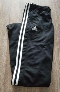 Adidas track pants straight leg